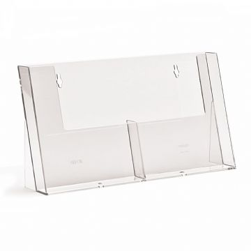 2C155H | 2 Pocket A5 Portrait Leaflet Holder